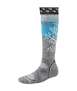 Smartwool PhD Snowboard Medium Socks Light Gray