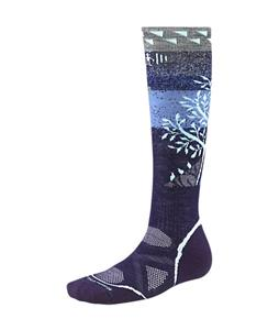 Smartwool PhD Snowboard Medium Socks Purple