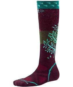Smartwool PhD Snowboard Medium Socks Aubergine