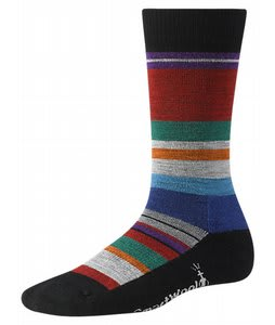 Smartwool Saturnsphere Socks Black Multi Stripe