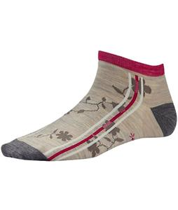 Smartwool Spiro Doo Wop Socks Oatmeal Heather