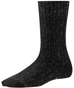 Smartwool Wrapped Metallic Cable Socks Black