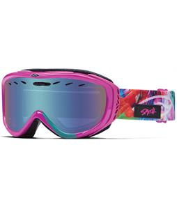 Smith Cadence Goggles Magenta Tropidelic/Green Sol-X + Yellow Lens