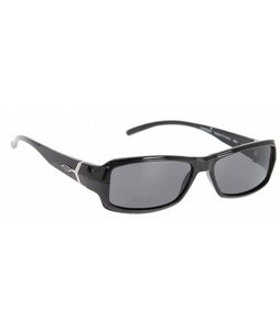 Smith Crossroad Interlock Sunglasses Black/Grey Polarized Lens