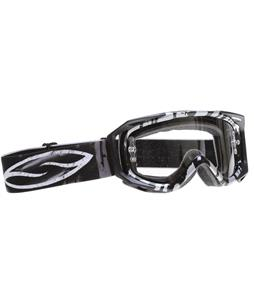 Smith Fuel V.2 Sweat-X Goggles Black Batik/Clear Lens