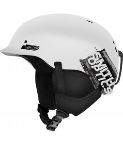 Smith Gage Snowboard Helmet Matte White Dark Sky