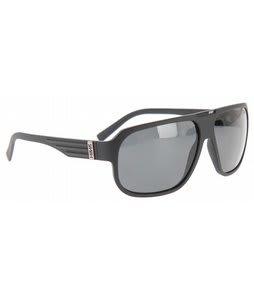 Smith Gibson Sunglasses Matte Black/Polarized Gray Lens