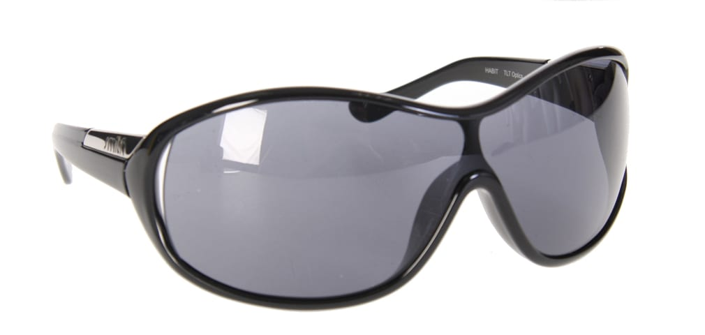 Shop for Smith Habit Sunglasses Black/Grey Lens - Men's