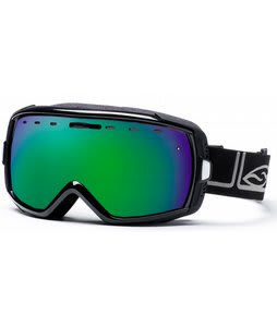 Smith Heiress Goggles Black Foundation/Green Sol-X Lens