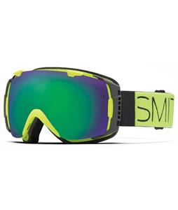 Smith I/O Goggles Acid Block/Green Sol-X + Red Sensor Lens