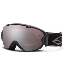Smith I/Os Goggles Black w/ Ignitor Mirror Lens