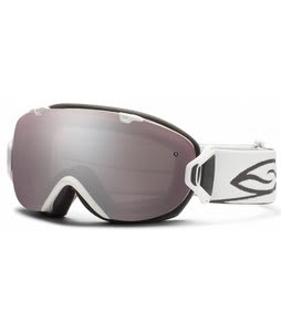 Smith I/OS Goggles White w/ Ignitor Mirror Lens