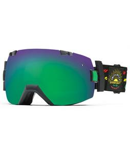 Smith I/OX Goggles Revival Irie/Green Sol-X + Red Sensor Lens
