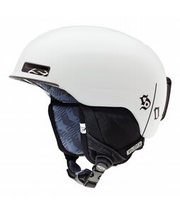 Smith Maze Snowboard Helmet White One Percenter