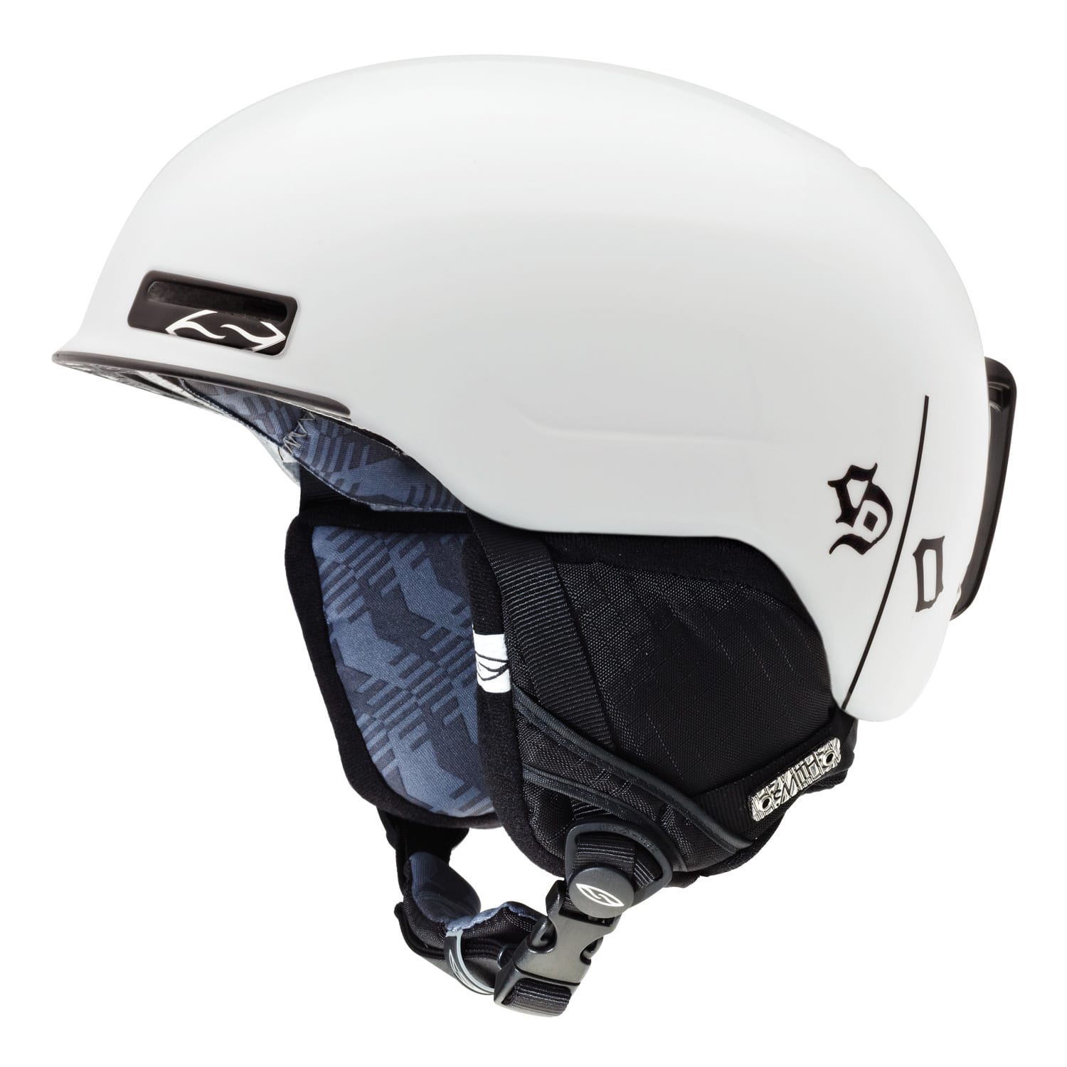 Shop for Smith Maze Snowboard Helmet White One Percenter - Men's