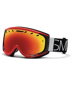 Smith Phenom Goggles Fire Blockhead/Rc36 Lens