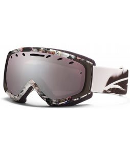 Smith Phenom Goggles White Film w/ Ignitor Mirror Lens