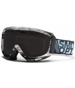 Smith Prophecy Goggles Black/White Dark Sky w/ Blackout Lens