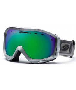 Smith Prophecy Goggles Chrome Max/Green Sol-X Lens