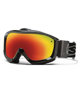 Smith Prophecy Turbo Fan Goggles Black/Red Sol-X Lens