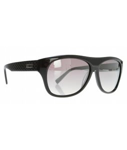 Smith Roundhouse Sunglasses Black/Gray Gradient Lens