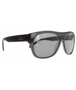 Smith Roundhouse Sunglasses Black/Polarized Gray Green Lens