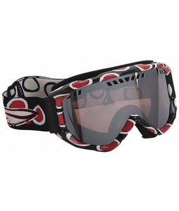Smith Scope Graphic Goggles Black/Red Dots/Ignitor Mirror Lens