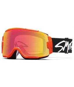 Smith Squad Goggles Orange/Red Sensor + Rc36 Lens