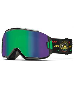 Smith Squad Goggles Revival Irie/Green Sol-X + Yellow Lens