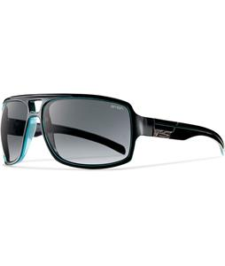 Smith Swindler Sunglasses Black Lagoon/Polarized Gray Gradient Lens