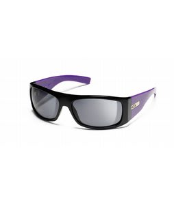 Smith The Don Sunglasses Black Purple/Grey Lens 