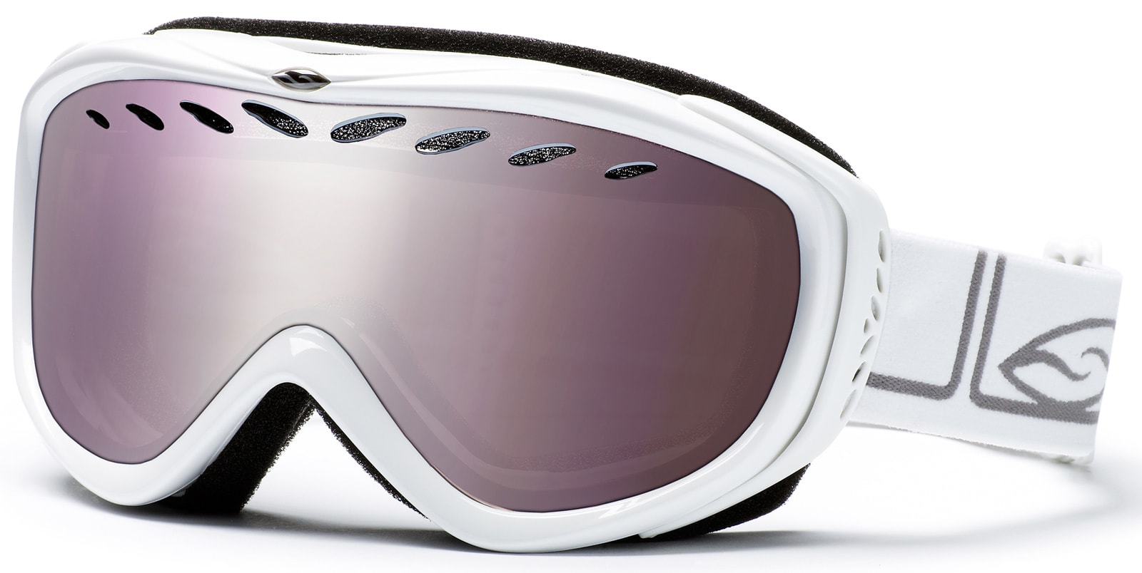 Smith Transit Pro Goggles Gloss White/Ignitor Mirror Lens - Men's