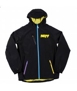 Neff Sno Poncho Jacket Black