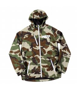 Neff Sno Poncho Jacket Camo