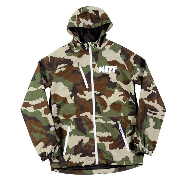Neff Sno Poncho Snowboard Jacket