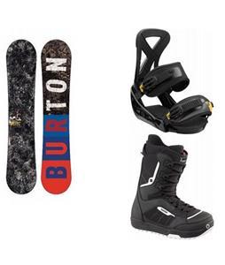 Burton Blunt Snowboard w/ Invader Boots & Burton Custom Bindings