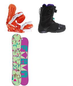 Forum Craft Snowboard w/ K2 Sapera Boots & Keeper Bindings