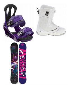 Morrow Seneca Snowboard w/ Kava Boa Boots & Burton Citizen Bindings
