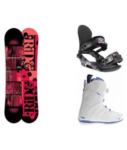Ride Compact Snowboard w/ Sage Boots & VXN Bindings