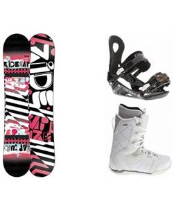 Ride Rapture Snowboard w/ Donna Boots & LXH Bindings