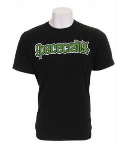 Spacecraft Frankie T-Shirt Black