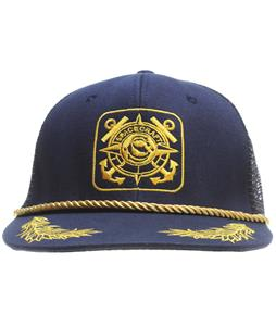 Spacecraft Anchor Trucker Cap Dark Blue