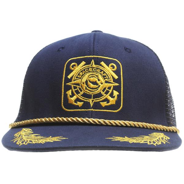 Spacecraft Anchor Trucker Cap