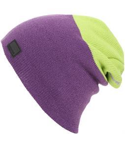Spacecraft Offender Light 2 Stripe Beanie Purple