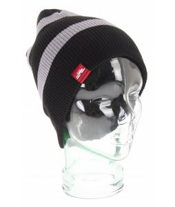 Spacecraft Offender Thin Stripe Beanie Black