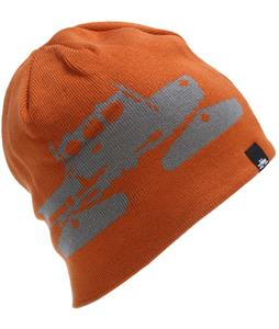 Spacecraft Reverse Beanie Burnt Orange/Gray