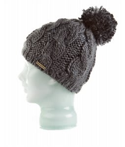 Spacecraft Snuffle Pom Beanie Charcoal
