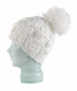 Spacecraft Snuffle Pom Beanie White