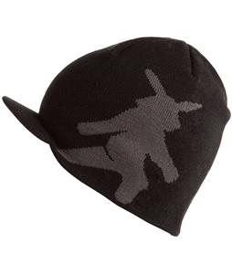 Spacecraft Visor Beanie Black