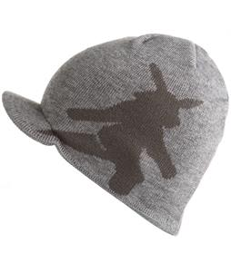 Spacecraft Visor Beanie Heather Grey